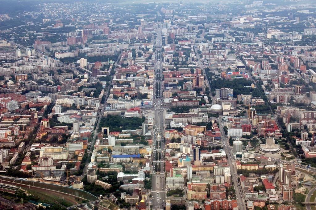 Первый пост в блоге - Центр Новосибирска