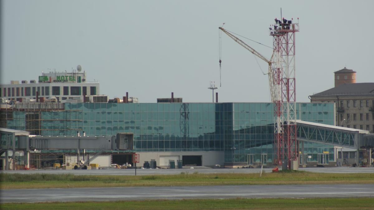 Толмачево - реконструкция международного терминала