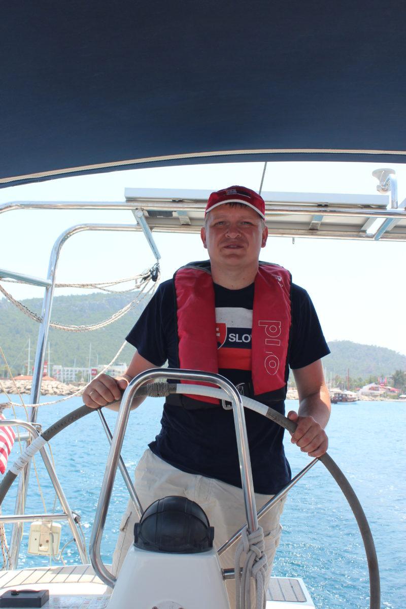 Яхтенная практика в Турции