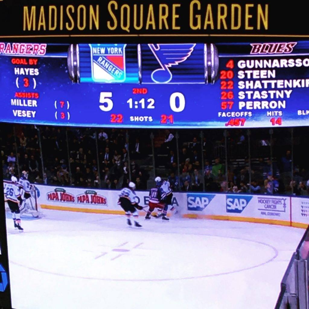 хоккей - Нью Йорк Рейнджерс