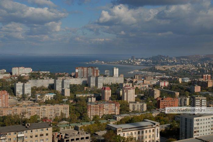 Вид на город с одной из сопок