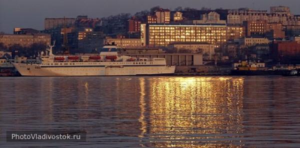 Владивосток - морской закат
