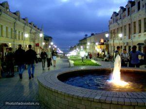 Вечерняя - Семеновская (местный Арбат)
