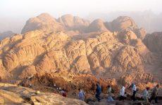 Египет-  гора синай, 2007 год.
