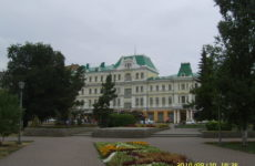 Город Колчака. Омск.