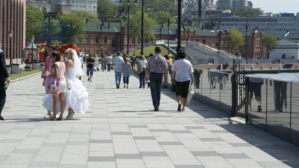 Летний Владивосток - набережная