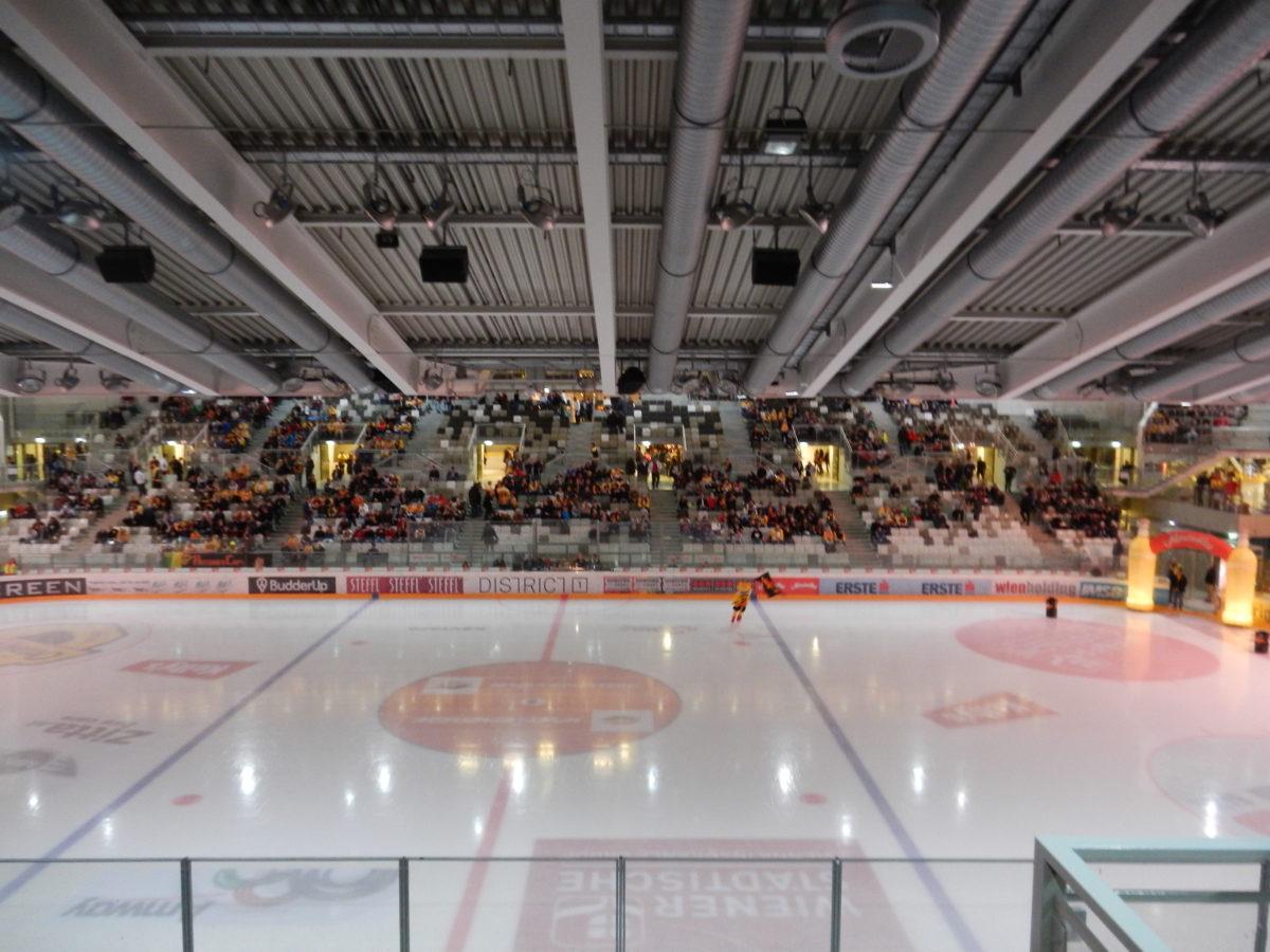 Хоккейный матч в Вене
