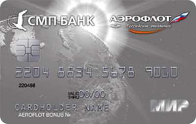 СМП банк карта Аэрофлот Премиальная