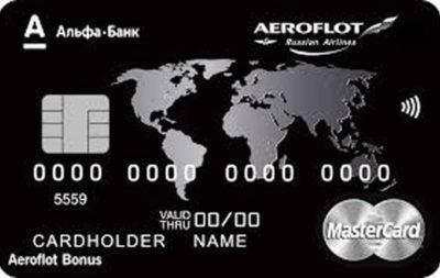 Альфа-банк Aeroflot World Black Edition