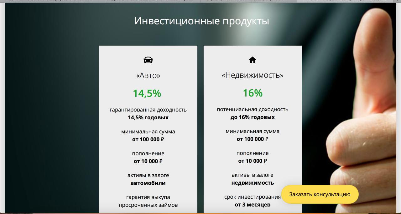 Альтернативное кредитование в России