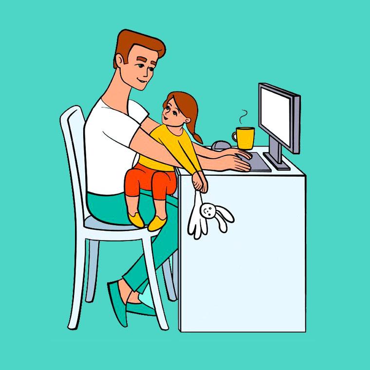 организация-пространства семья