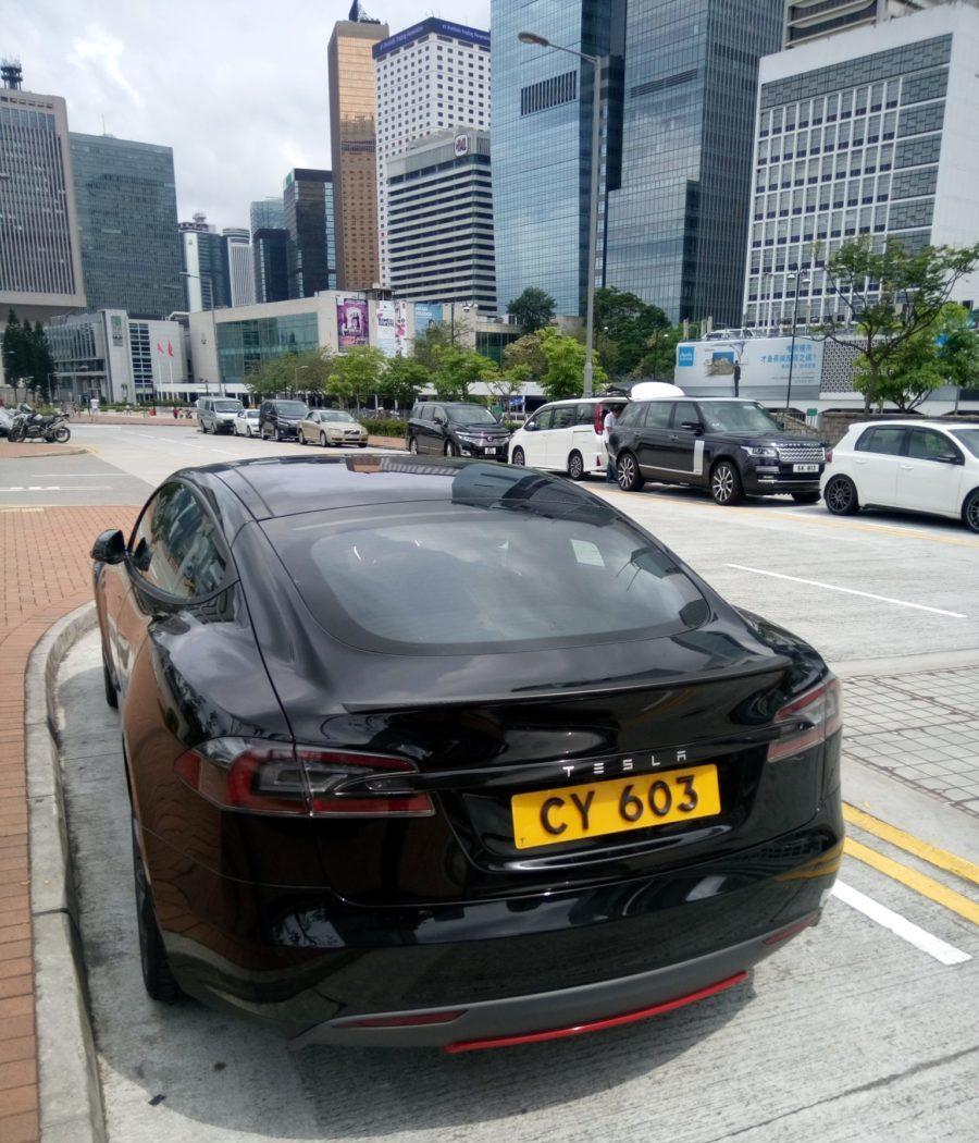 Tesla Гонконг бонусные карты