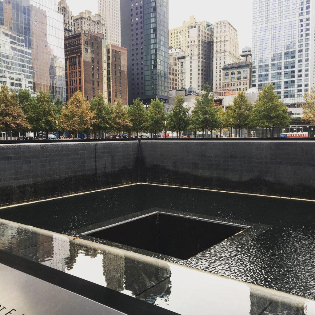 ground zero - финансовый квартал Нью-Йорка
