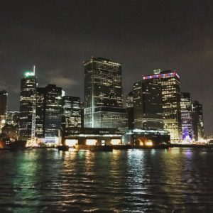 Финансовый квартал Нью-Йорка.