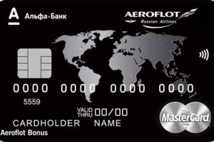 Альфа-Банк — Карта «Аэрофлот Platinum»