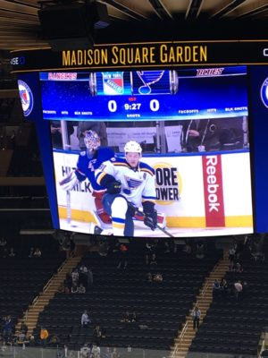Матч-пост . New York rangers — St.louis blues . 1 November .