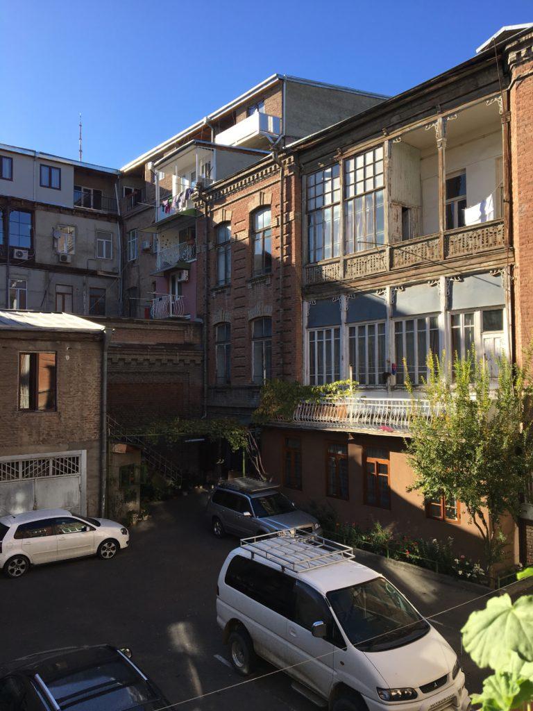 Грузия - уютные дворики Тбилиси
