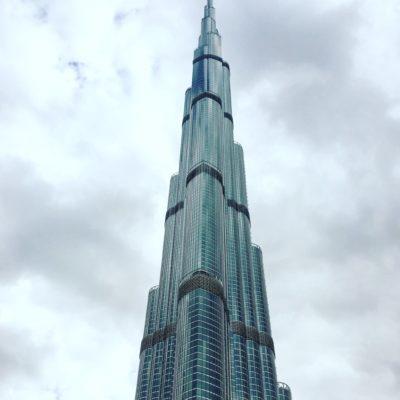 Знойный город небоскребов.