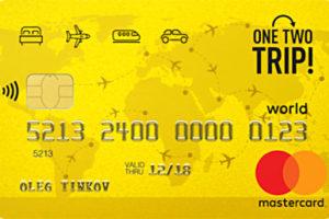 Тинькофф — Кредитная карта «OneTwoTrip»