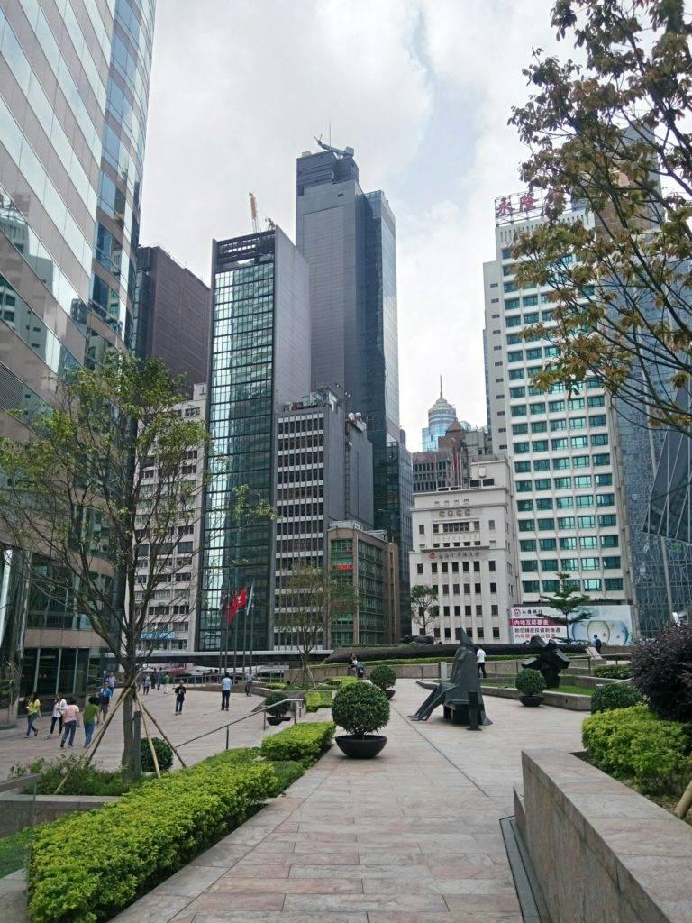 Гонконг - парки и небоскребы